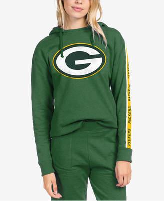 Authentic Nfl Apparel Women Green Bay Packers Liberty Fleece Hoodie