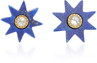 Lapis Colette Jewelry Star 18K Gold Earrings
