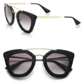Prada Havana Cat Eye Sunglasses