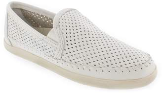 Minnetonka Leather Slip-On Sneakers - Pacific