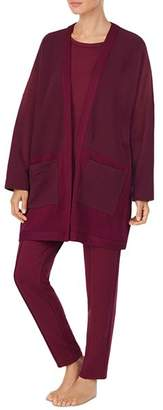 Donna Karan Quilted Bed Jacket