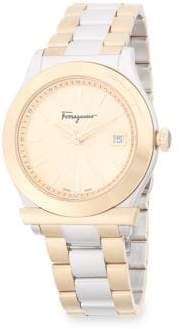 Salvatore Ferragamo Classic Stainless Steel Bracelet Watch