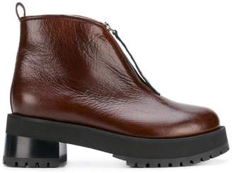 Marni chunky platform boots