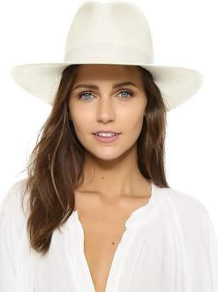 Janessa Leone Aisley Beach Hat In Bleach
