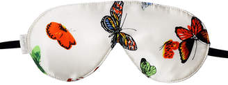 "elizabeth W Elizabethw Silk Sleep Eye Mask ""Butterfly"""