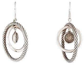 David Yurman Diamond Mobile Drop Earrings