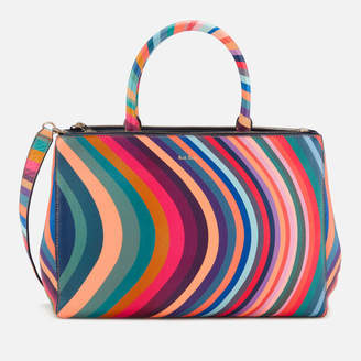 Paul Smith Women's Double Zip Tote Bag - Multi