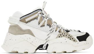 Kenzo White Inka Sneakers