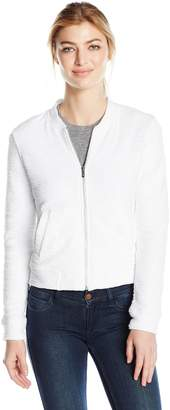 Andrew Marc Performance Women's Boucle Bomber Jacket