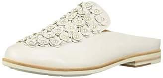 Gentle Souls by Kenneth Cole Women's Everett Floral Applique Backless Slip On Loafer Shoe