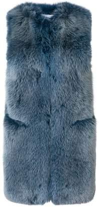 Sonia Rykiel fox fur gilet