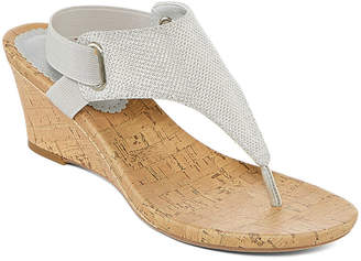 ST. JOHN'S BAY Ante Womens Wedge Sandals