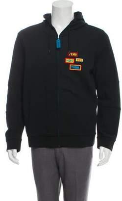 f3279805 Fendi Zip Hoodie - ShopStyle