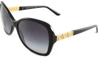 Versace Women's VE4271B-GB1/8G-58 Cat Eye Sunglasses