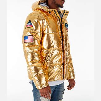 Champion Mens Metallic Puffer Coat