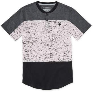 Zoo York Boys Henley Neck Short Sleeve T-Shirt Preschool / Big Kid