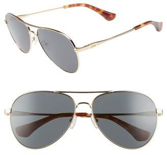 Sonix Lodi 61mm Mirrored Aviator Sunglasses