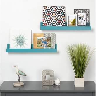 Red Barrel Studio Pettine Wood Floating Wall Shelf