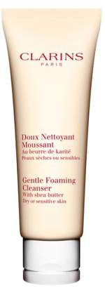 Clarins Gentle Foaming Cleanser with Shea Butter for Dry/Sensitive Skin Types