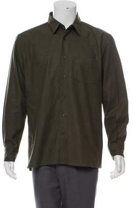 John Varvatos Rounded Cuff Button-Down