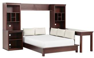 Pottery Barn Teen Stuff-Your-Stuff Platform Bed Super Set (Bed, Towers, Shelves + Desk), Full, Dark Espresso