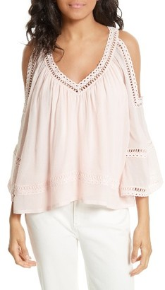 Women's Rebecca Minkoff Deneuve Crochet Blouse $248 thestylecure.com