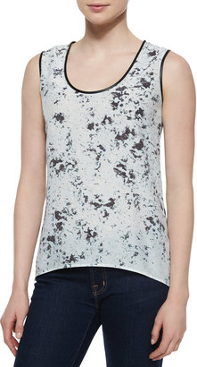 Andrew Marc BLURRED DOT TANK $57.49 thestylecure.com