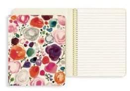 Kate Spade Floral-Print Concealed Spiral Notebook