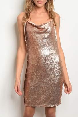 Alythea Rose Gold Dress