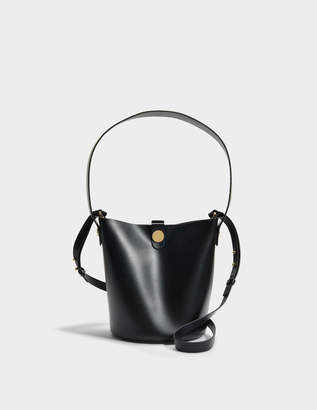 Sophie Hulme The Swing Bag in Black Cow Leather