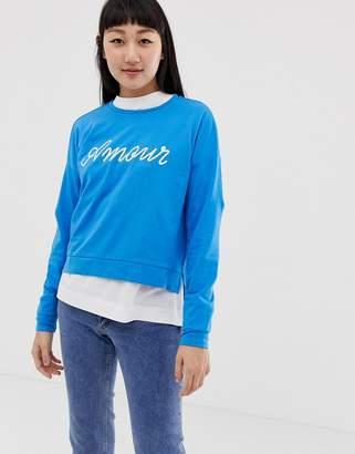 Only slogan sweatshirt