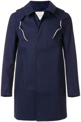 MACKINTOSH classic fitted raincoat