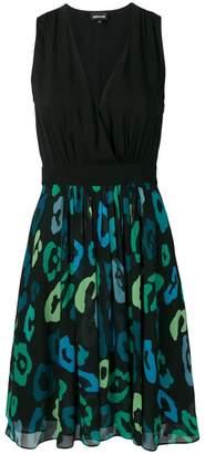 Just Cavalli macro-print dress