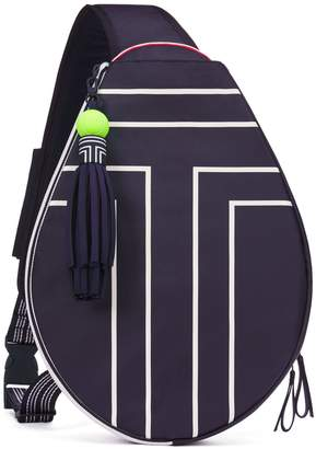Tory Sport CANVAS TENNIS SLING BACKPACK