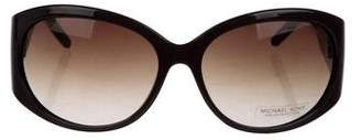 MICHAEL Michael Kors Gradient Shield Sunglasses
