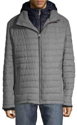 Bugatti Double Zip Quilted Jacket