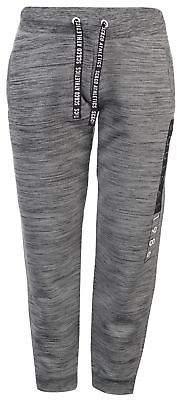 Soul Cal SoulCal Womens Space Dye Leggings Jersey Jogging Bottoms Pants Trousers Mesh