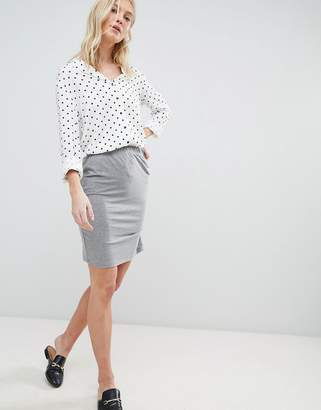 Vero Moda Gathered Panel Skirt