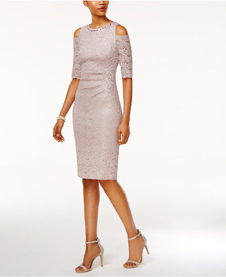 Jessica Howard Lace Sheath Dress $119 thestylecure.com