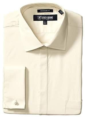 Stacy Adams Big Tall 39000 Solid Dress Shirt