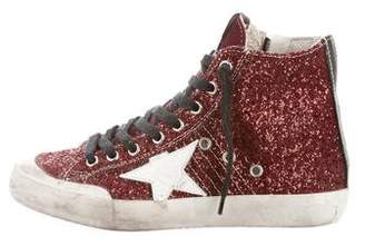 Golden Goose Brooklyn Playground Francy Glitter Sneakers