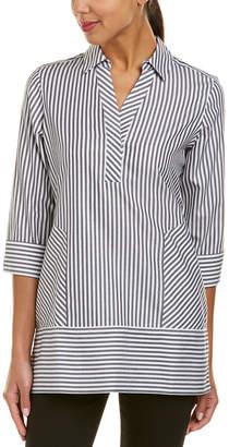 Foxcroft Daria Non-Iron Stripe Tunic