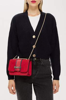 Topshop Panther Cross Body Bag