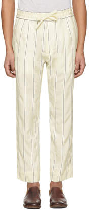 Haider Ackermann Off-White Stripe Kunzite Trousers