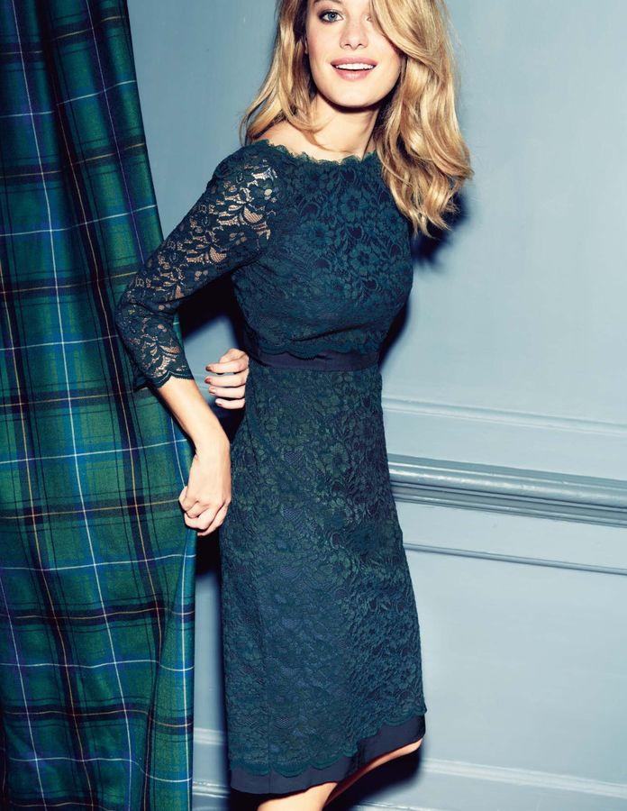 Boden Luxurious Lace Dress