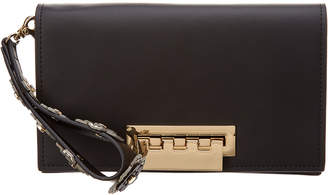 Zac Posen Earthette Leather Clutch