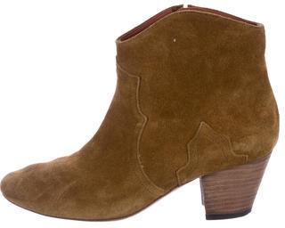Isabel MarantIsabel Marant Suede Dicker Ankle Boots