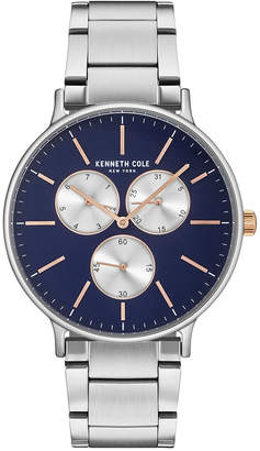 Kenneth Cole Men's Stainless Steel Bracelet Watch 46mm KC14946008 $135 thestylecure.com