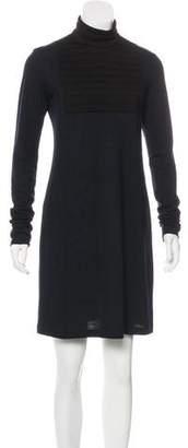 Hache Virgin Wool Knee-Length Dress