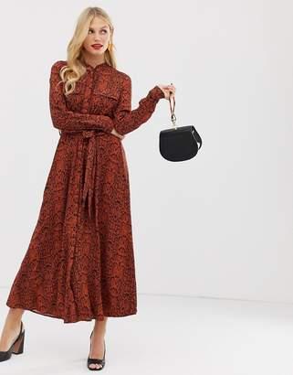6fab352e0289 Brown Print Maxi Dresses - ShopStyle UK